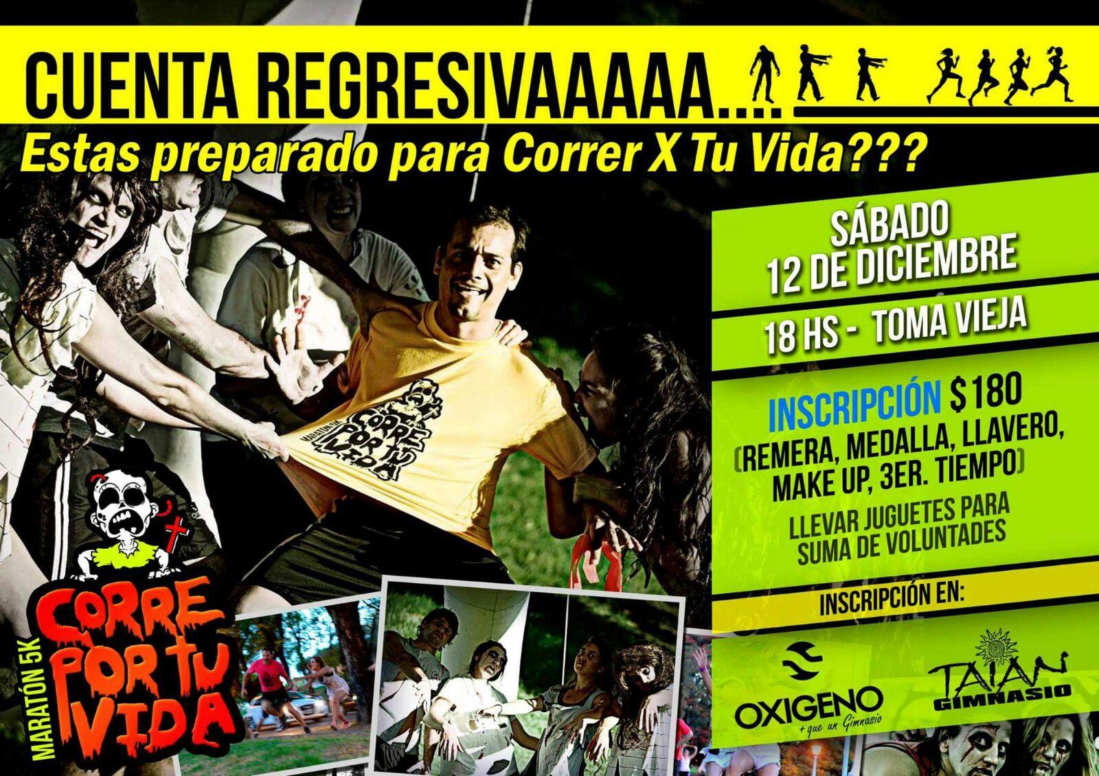 Estás preparado para Correr X Tu Vida???