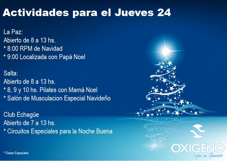 actividades navidad 2015