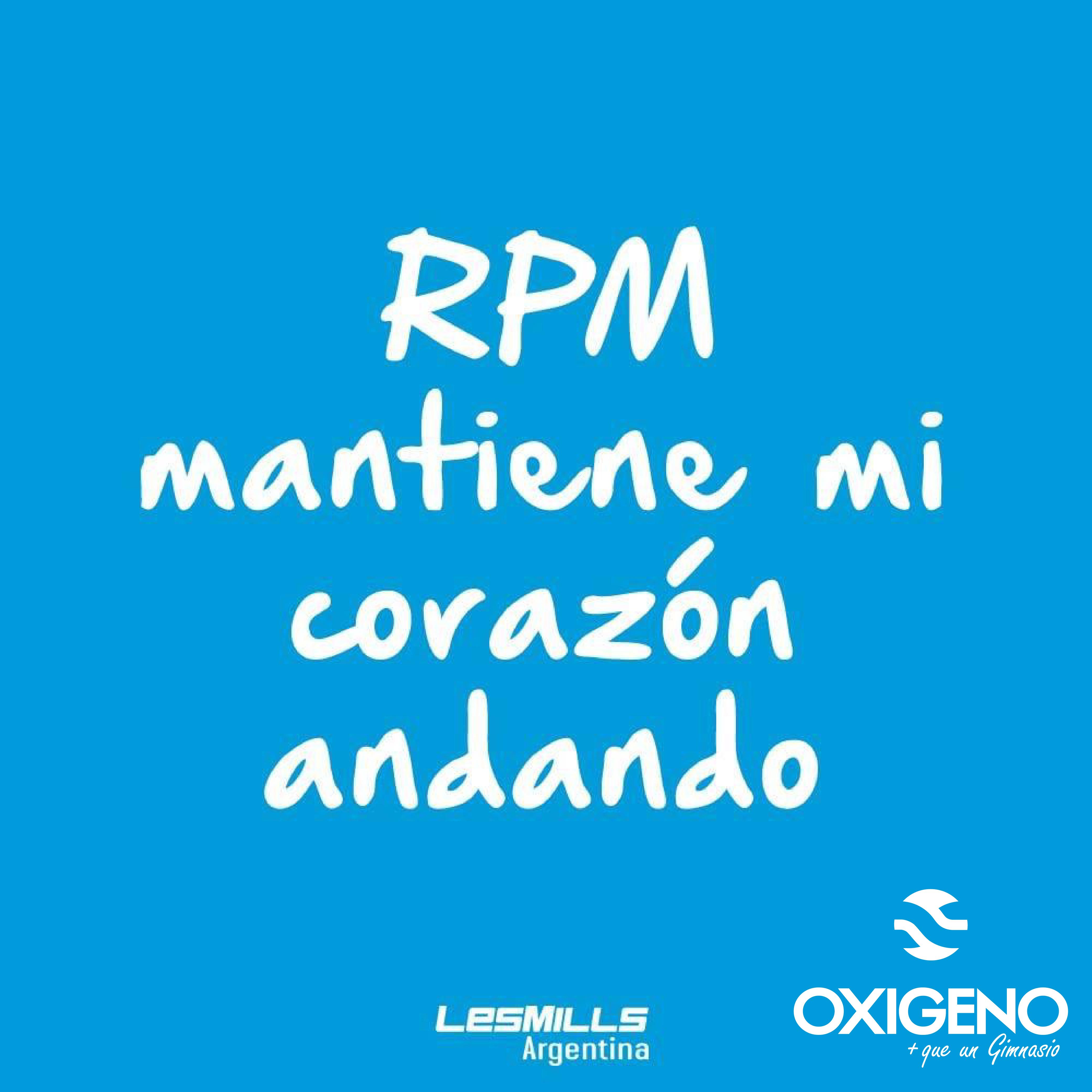 rpm oxigeno