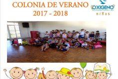 Colonia de Verano 2017 / 2018