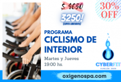 Plan Ciclismo de Interior – CyberFit