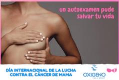 Día Internacional de la Lucha contra el Cáncer de Mama: cómo realizar un autoexamen